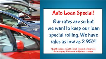 September Auto Loan Special